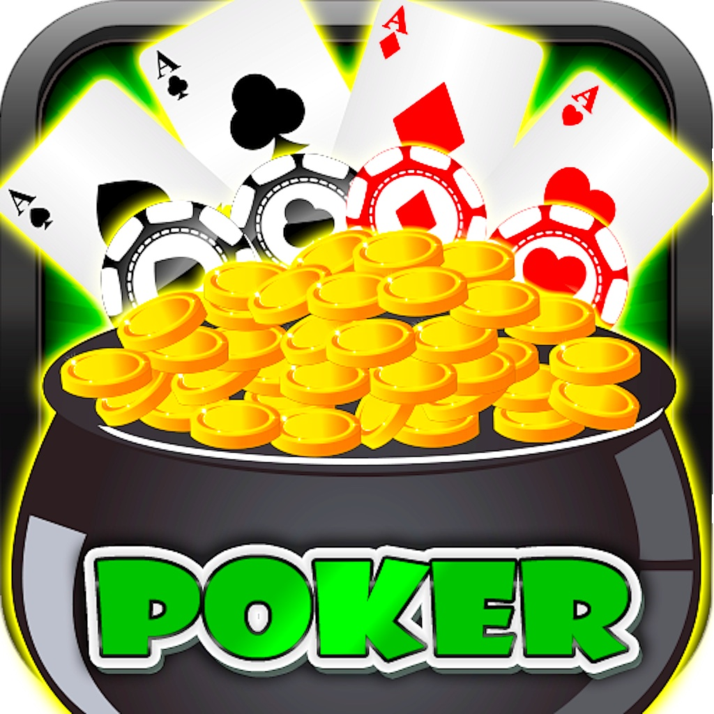 Lucky Gold Coins Treasure Stars Bonus Casino Video Poker HD Pro - Offline Free Game Vegas Friends Wheel Clan Edition